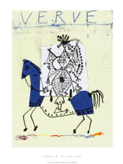 Verve Magazine Covers (Picasso) Posters