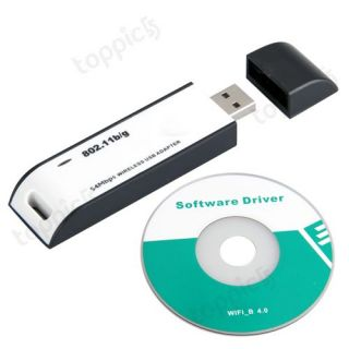 USB Wireless WiFi Link LAN Adapter for Wii/NDS/PSP/PS3