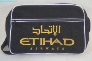 Airline Bag ETIHAD AIRWAYS Messenger Tasche NEU Flightbag