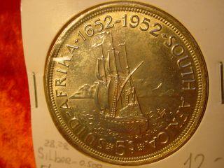 GEORGIVS SEXTVS REX 5s SUID AFRIKA 1652 1952 SOUTH AFRICA 572