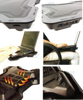 Laptop cooling Pad Notebook Lüfter Kühler Cooler USB 17