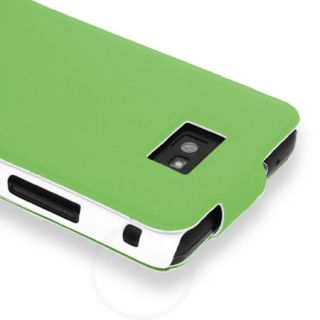 Green Flip Stand Case Cover For Samsung Galaxy S2 S 2 i9100 + Film