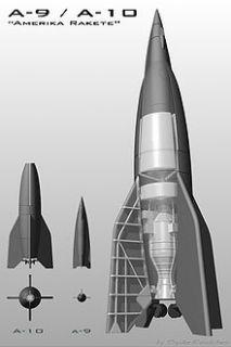 V2 (A4) Rakete + Triebwerk 2 Fotos