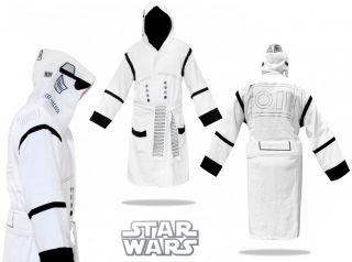 Star Wars Stormtrooper Luxus Bademantel Herren Sturmtruppen bath robe