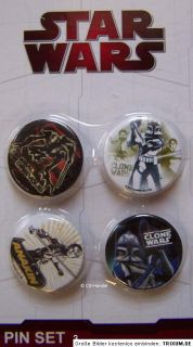 Star Wars Clone Wars Button Buttons Anstecker Pins Party Fan