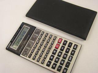 Taschenrechner Calculator Casio fx 570a Rarität
