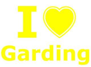 Städte Aufkleber   I love Garding C570