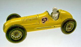 Matchbox RW 52A Maserati Racing Car gelb Speichenfelgen