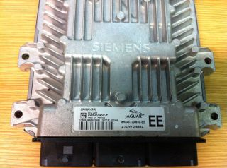 JAGUAR S TYPE 2.7 DIESEL ENGINE ECU 6R8Q 12A650 EE