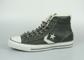 CONVERSE STAR PLAYER [PLYR] EV MID charcoal / grau / grey gefüttert