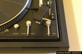 Dual CS 721 Direct Drive Plattenspieler mit Abdeckhaube in schwarz