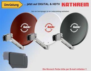 HDTV Sat Anlage Spiegel CAS 80 + LNB UAS 585 DIGITAL Neu Frachtfrei