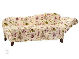 NEU* Edle Recamiere Chaiselongue Ottomane Sofa Couch florales Design m