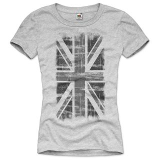 ENGLAND Union Jack Damen Vintage T Shirt Britain Flagge United Kingdom