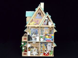 Puppenhaus Dollhouse Miniatur Love Song of Season DIY Spielzeug