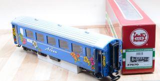 LGB 37670 Personenwagen Chur Arosa der RhB / Metallradsätze / Licht