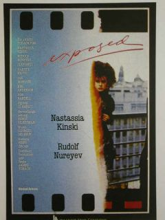 Cinema 604= Filmkarte, Exposed mit Nastassja Kinski + Rudolf Nurejew