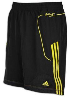 adidas F50 Training Shorts Black/Yellow   Sports Clothi
