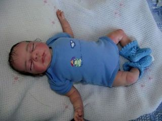 Reborn Baby Puppe  Süüüüüß ,soooo süüüüüüüß ,schau mal