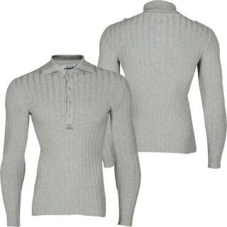 Cipo & Baxx Hooded Polo Strick Pullover Grau(77701)