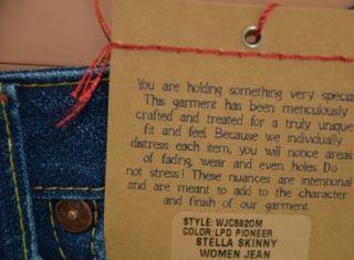 TRUE RELIGION Jeans STELLA SKINNY Women Jeans WJC592OM LPD PIONEER W30