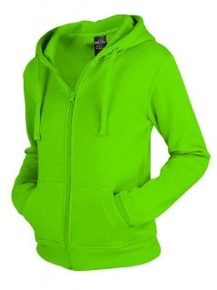 Urban Classics LADIES ZIP HOODY Sweatjacke Damen Hoodie mit Zipper S