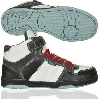Fubu Shoe Classic Basketball Schuh White Dark Grey Kapatcha