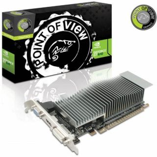 1024MB Point of View GeForce GT 610 Low Profile Passiv PCIe 2 0 x16