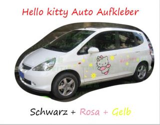 Hello Kitty Auto Tattoo Aufkleber Sticker 44x51 cm A031