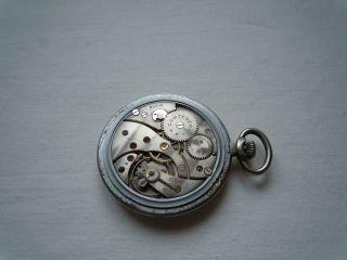 Cortebert cal. 620R pocket watch (Rolex caliber 618) movement