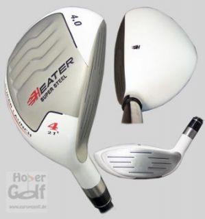 LH Senior Integra Heater White 4.0 Hybrid Holz Golf Neu