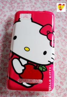 Funda CarcasaCover Skin para Motorola Motoluxe XT615 Hello Kitty