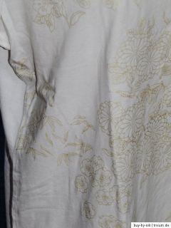 BONITA Strickjacke CARDIGAN & GERRY WEBER T Shirt GOLD BRAUN WEIß 44