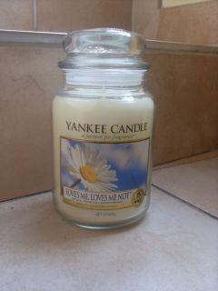 Yankee Candle HousewarmerLoves me, Loves me not, 623g
