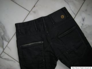 STAR RAW 3301 ☆ COOLE JEANS ☆ SIZE W30 L32 ☆ BLACK DENIM