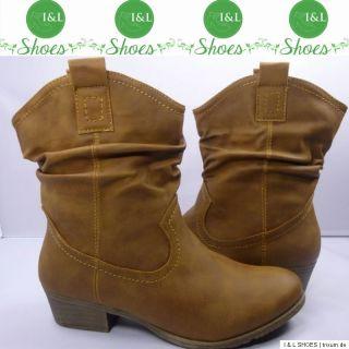 Top Designer Damen Schuhe Stiefel Stiefeletten braun 36 41 Neu
