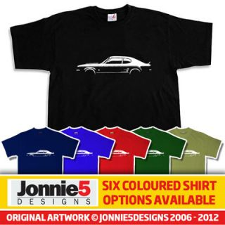 RETRO 70s FORD CAPRI MK1 RS 3100 STYLE T SHIRT   CHOOSE FROM 6 COLOURS
