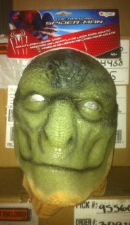 AMAZING SPIDER MAN LIZARD ADULT OVERHEAD MASK & HANDS LICENSED 42529