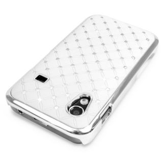 CHROME DESIGN DIAMANTE BLING CASE COVER FOR SAMSUNG GALAXY ACE S5830