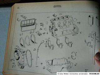 Mercedes Benz Motor Ersatzteilliste Type OM 636 VI E