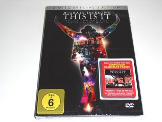 MICHAEL JACKSON   THIS IS IT   2 DVD SET   2 DISC SPECIAL EDITION