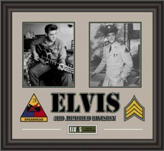 Elvis Presley Army Years framed presentation Framed Memorabilia