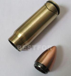NEW BULLET GUN METAL CIGAR CIGARETTE PIPE LIGHTERS
