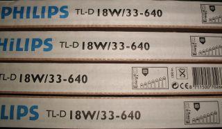 Philips Leuchtstofflampe TL D 18W/33 640 J9 1200Im Leuchtstoffröhre