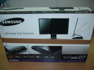 Samsung SyncMaster C27A750X 68cm LCD LED Monitor TFT Display HDMI LAN