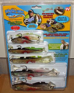 NEW Mighty Bite Fishing Lures Complete Basic Kit   AS SEEN ON TV   100