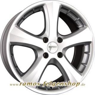 MAM W1 Silver Painted Felgen Mercedes Benz Vito/Viano 639 639/4