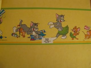 Rasch Kids Club 223002 Bordüre Kinder Tapete Tom Jerry
