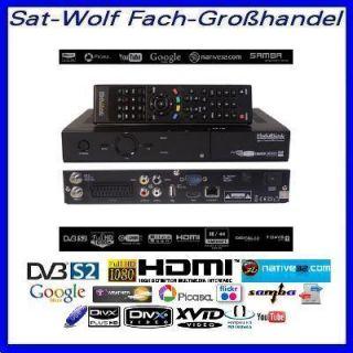 Medi@link Black Panther FTA Premium HDTV   Sat Receiver   LAN   Web