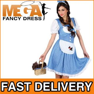 Dorothy Ladies Book Week Fancy Dress Adult Costume 6 24